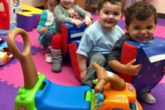 methodist elc - toddler train